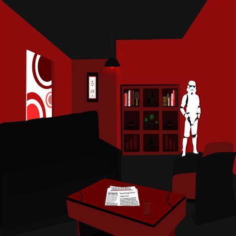 black and red room room design black and red by zaelkrie on deviantart