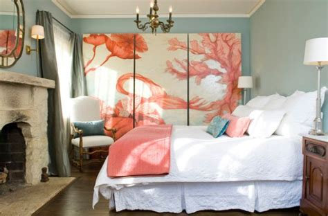 coral bedroom color schemes coastal style interiors ideas that bring home the breezy