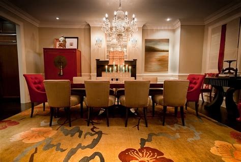 how to design a room how to create a sensational dining room with red panache
