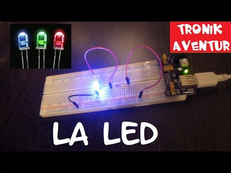 les a led tronik aventur 9 la led pour les nuls comment brancher led electronique pour les nuls