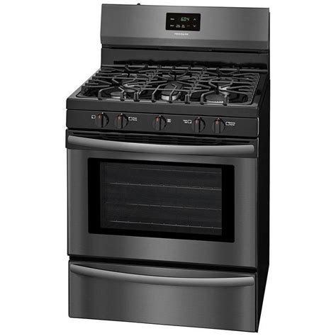 Oven Gas Manual ffgf3052td frigidaire manual clean gas range black