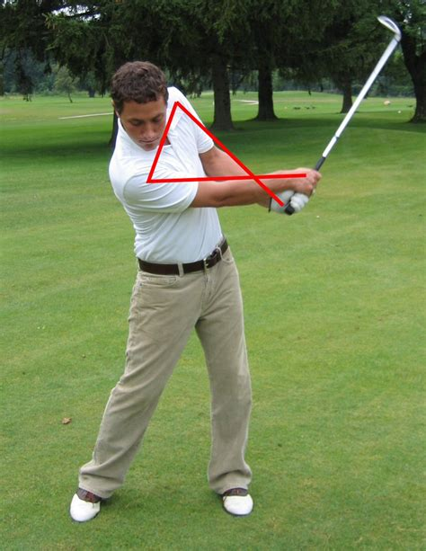 how to swing through the golf ball correct golf swing follow through the simple golf swing