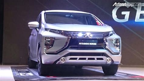 mpv car 2017 mitsubishi expander mpv unveiled front three quarters