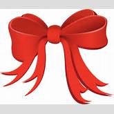 Free clipart red christmas bow - ClipartFest