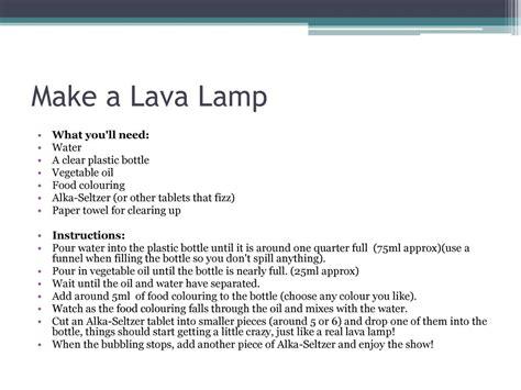 how do you make a homemade lava good lava l experiment worksheet goodsnyc com