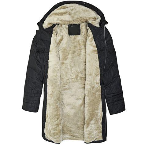 Jaket Winter Winter Coat Jaket Parka 58 new womens fur trimmed hooded padded puffer parka winter jacket coat size ebay