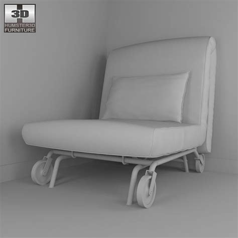 chair bed ikea ikea ps lovas chair bed 3d model hum3d