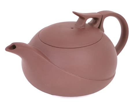 Unique Kitchen Canisters ridged yixing teapot