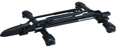 Roof Rack Universal Mount by Inno Tire Hold 2 Universal Upright Bike Roof Rack Mount