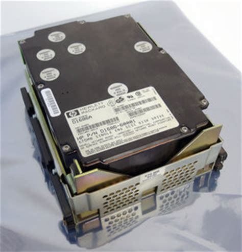 Hardisk Server Scsi Hp 40pin hp d1686a 5 25 height 50 pin scsi 670 mb disk drive hdd vectra 486 25t