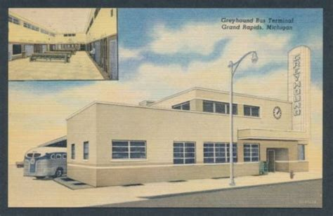 greyhound terminal depot grand rapids michigan