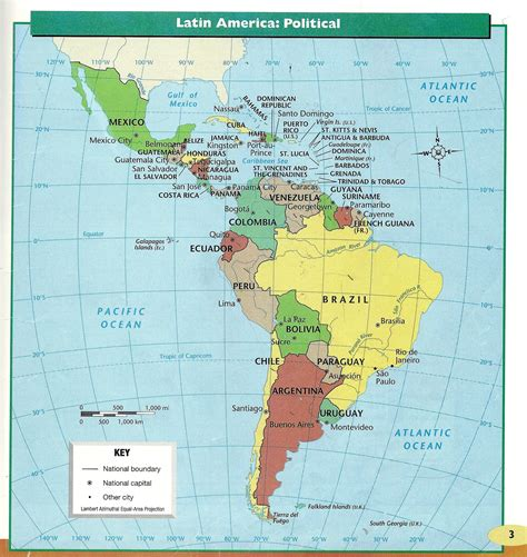 south america physical political map s america project links