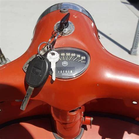 modern vespa 75 vespa rally ignition key switch
