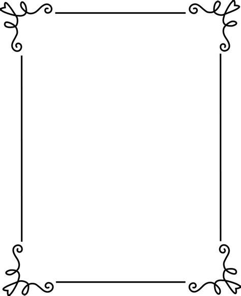 id card border design free simple border design cliparts co