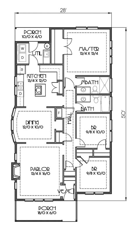 craftsman style floor plans house plan 76819 at familyhomeplans com