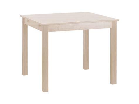 table salon conforama 130 table carr 233 e avec allonge 130 cm max coloris ch 234 ne