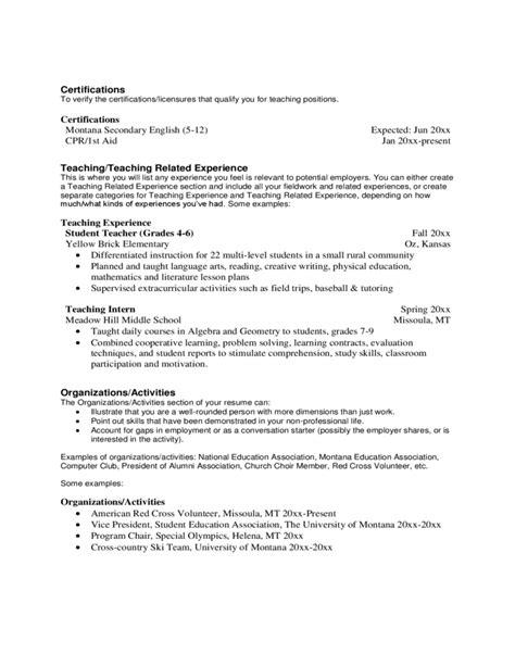 resume cover letter for teachers resume and cover letter for free