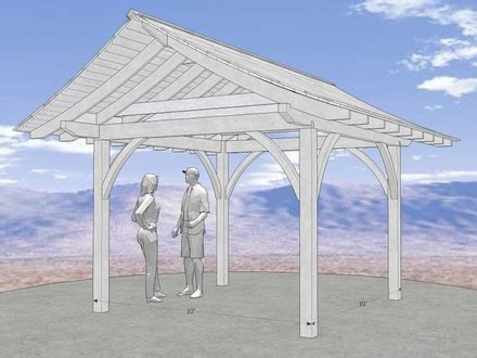 3 Sided Hip Roof Gable Roof House Plans How To Build A Three Sided Shed