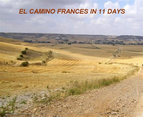 camino frances description dates and prices