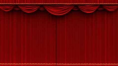 red velvet theater curtains 4k high detail red velvet theater curtain opening with
