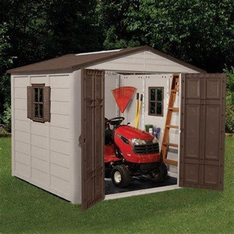Storage Shed For Lawn Mower by 1000 Ideas About Suncast Storage Shed On
