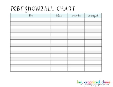 Snowball Budget Spreadsheet by 1000 Ideas About Debt Snowball On Dave Ramsey