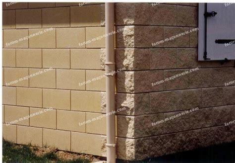 Lisser Un Mur Crépi by Cr 233 Pir Un Mur En Parpaing