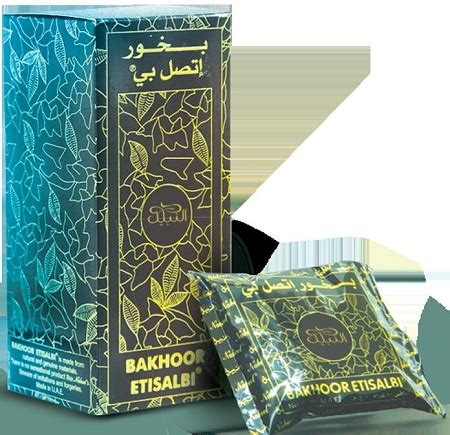 Nabeel Black Bakhoor bakhoor nabeel black etisalbi incense 40gm by nabeel