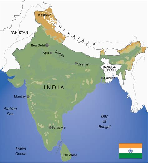 india s map of india s largest cities pictures to pin on pinterest