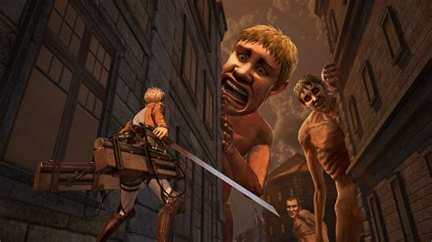 Attack On Titan 09 attack on titan 2 will release on ps4 xbox one pc and