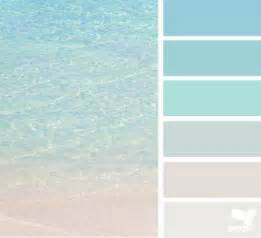 beach color crystal clear beaches colour swatches and design seeds