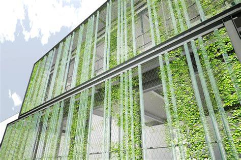 Vertical Garden Facade Prefab Lehman College Day Care Center Features Vertical