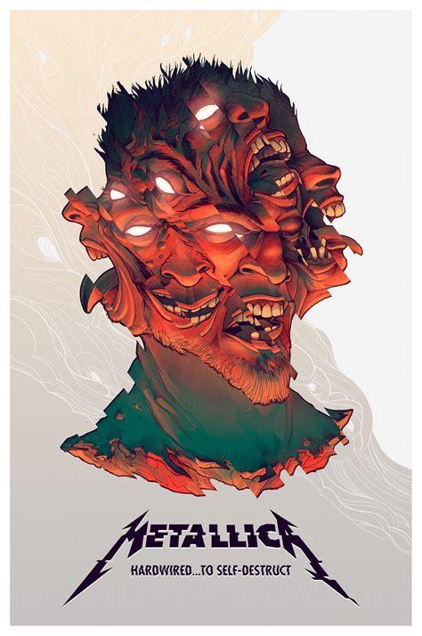 Cd Original Metallica Hardwired To Self Destruct Import metallica hardwired to self destruct on behance