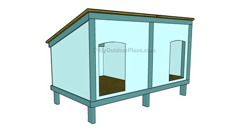 dog houses plans a frame dog house plans myoutdoorplans free woodworking plans and projects diy