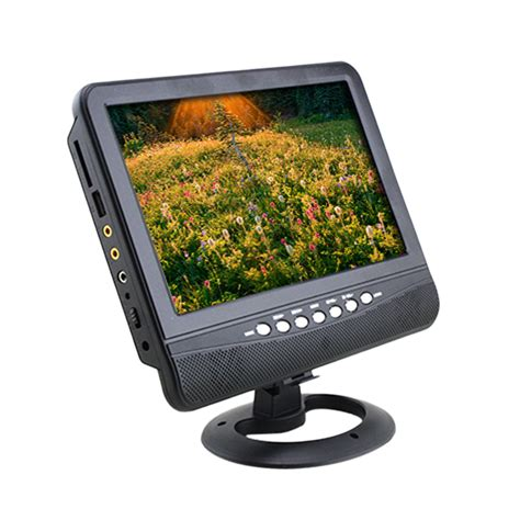 Tv Mobil Lcd 7 inch portable lcd analog tv fm mp3 usb slot car reader