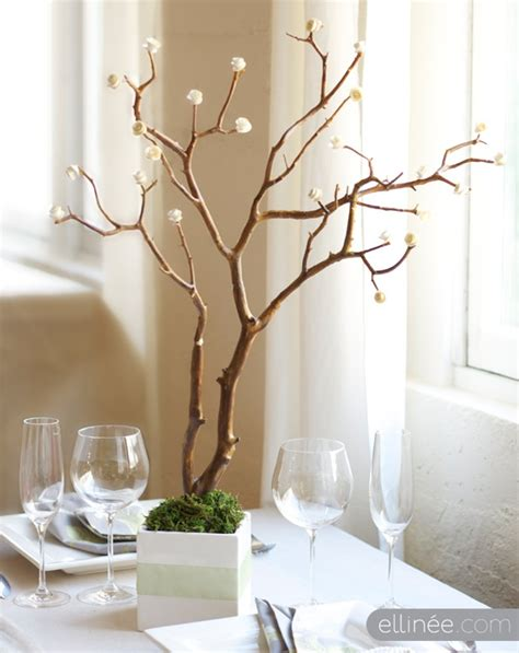 diy branches centerpieces easy diy paper and branch centerpieces budget