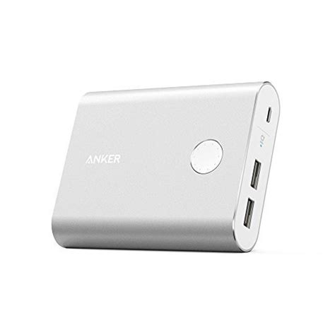 Anker Powercore 13400mah Silver anker powercore 13400 recharges 2x faster than normal