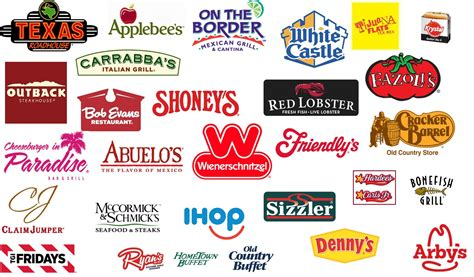 8 best images of restaurant logos and names games all restaurants names and logos 12 000 vector logos