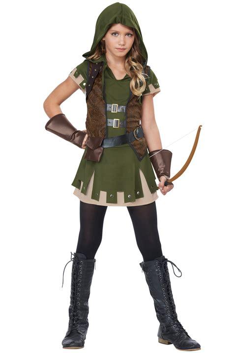 tween costumes purecostumescom miss robin hood tween costume purecostumes com