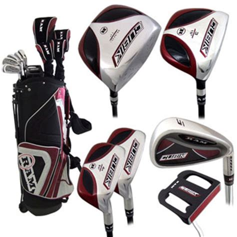 ram golf club set ram cubik square golf clubs set bag price golf