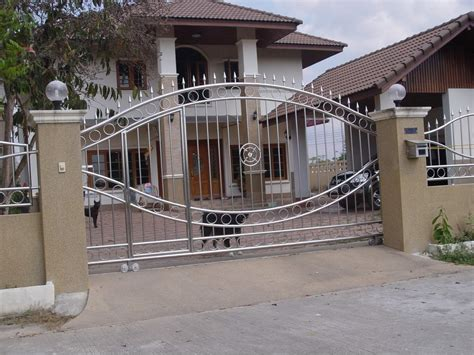 modern gate design for house modern homes main entrance gate designs 187 modern home designs