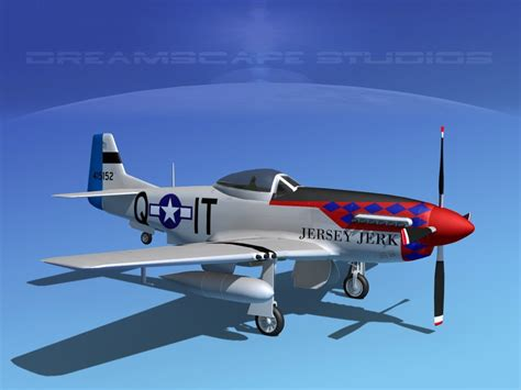 P 51 Mustang Autocad by 3d Model Of P 51d Cockpit Propeller