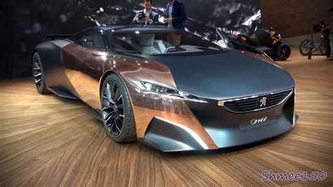 peugeot onyx supercar concept world premiere at