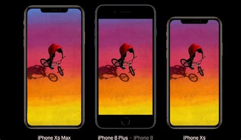 iphone xs xs max xr confronto dimensionale con iphone x 8 8 plus iphone italia