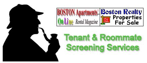 Roommate Background Check Boston Apartments Tenant Screening Roommate Screening