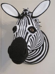 zebra head pattern hare head faux taxidermy wall mounted rabbit animal head