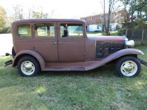 1932 chevrolet 4 door sedan rod for sale in