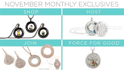 Origami Owl November Special - origami owl custom jewelry charms lockets bracelets