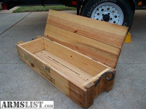 box for sale armslist for sale wooden ammo boxes