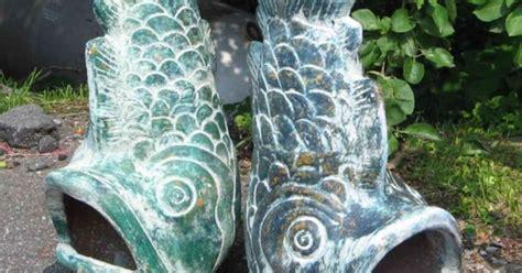 fish chiminea modified mexican clay design i mine